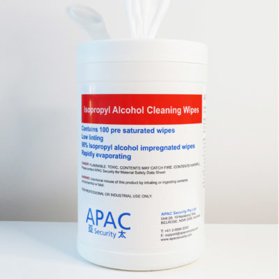 98% Isopropyl Alcohol Cleaning Wipes